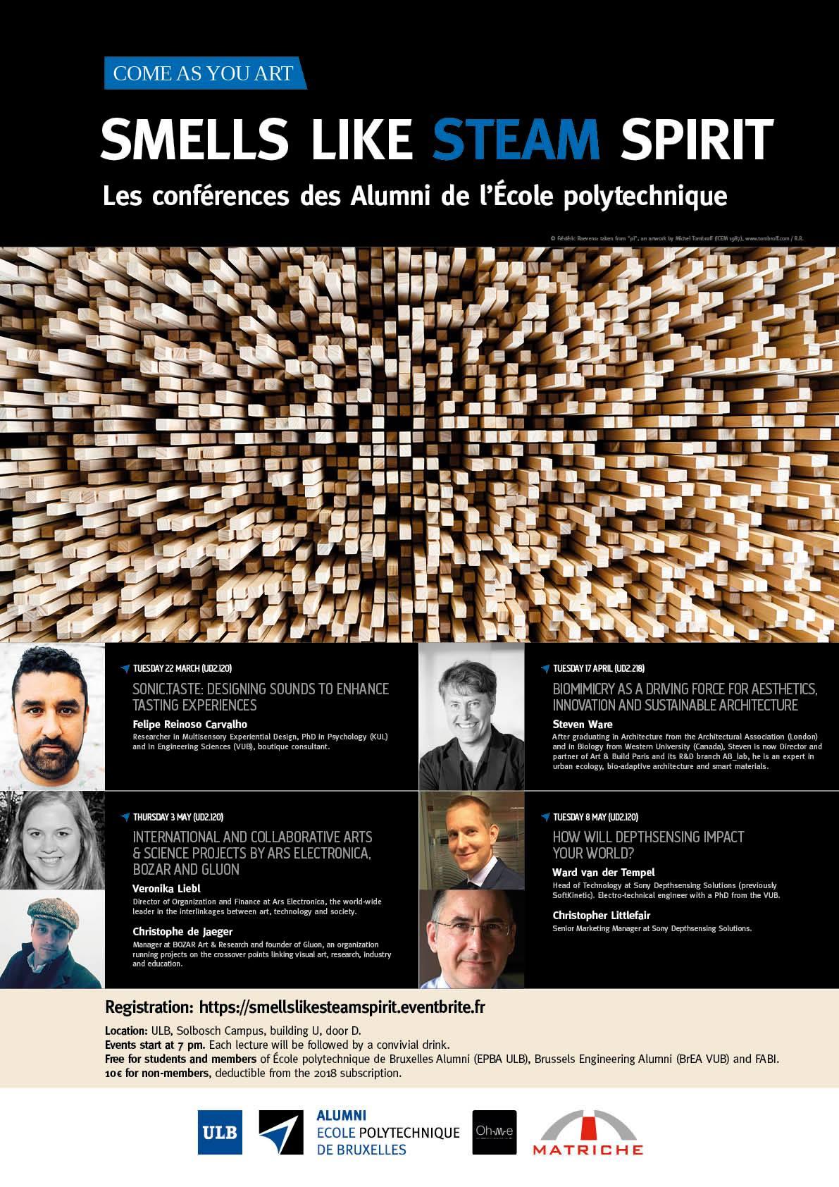 Cycle de Conference 2018 - Affiche